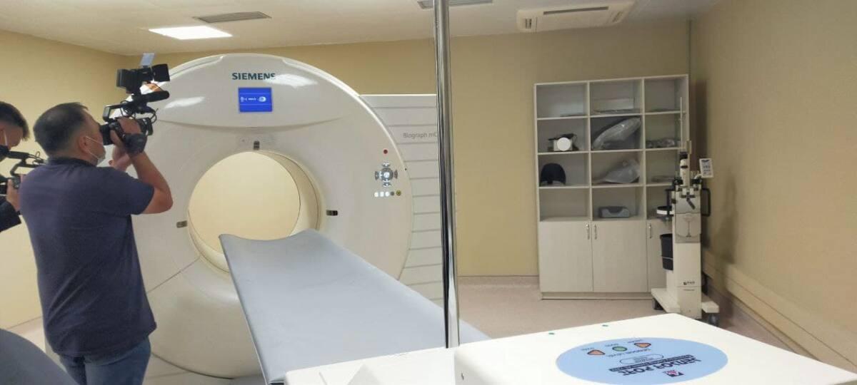 Семей қаласының ядролық медицина және онкология орталығында радионуклидті диагностика бөлімі ашылды